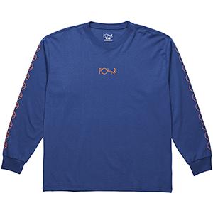 Polar Racing Longsleeve T-Shirt 80's Blue