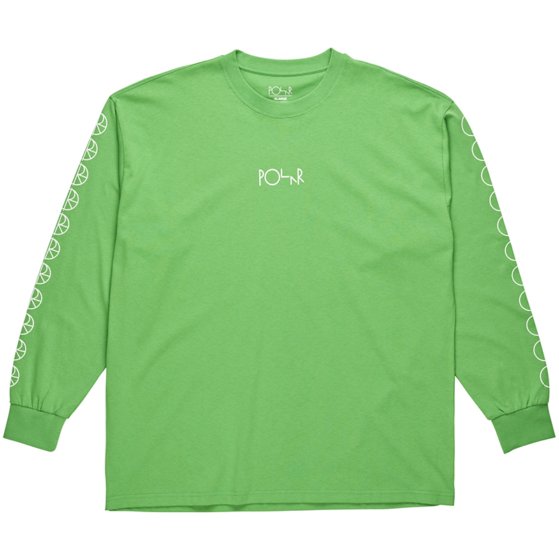 Polar Racing Longsleeve T-Shirt Apple Green