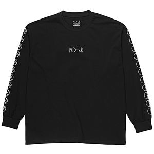 Polar Racing Longsleeve T-Shirt Black