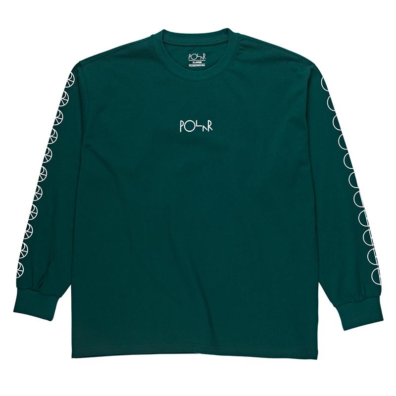 Polar Racing Longsleeve T-Shirt Dark Green