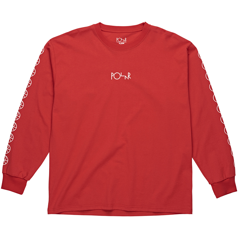 Polar Racing Longsleeve T-Shirt Red