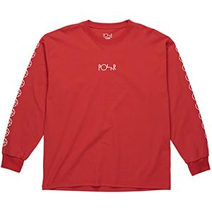Polar Racing Longsleeve T-Shirt Red