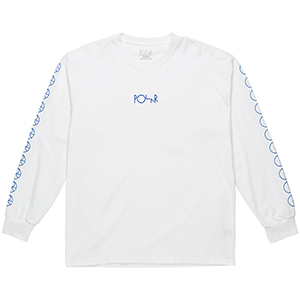 Polar Racing Longsleeve T-Shirt White