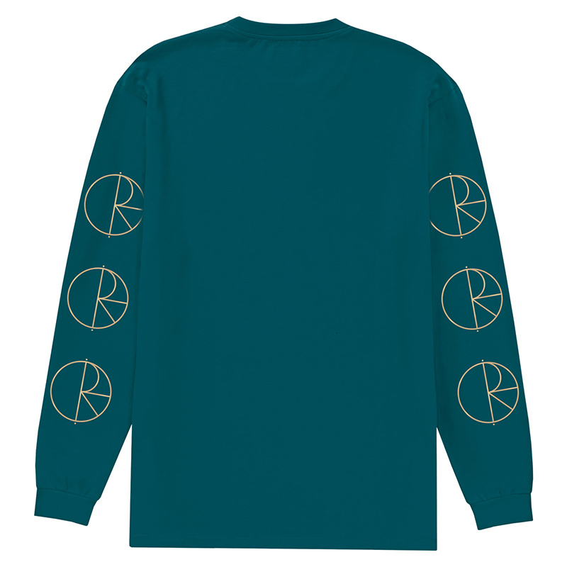 Polar Reflective Racing Longsleeve T-Shirt Teal/Gold