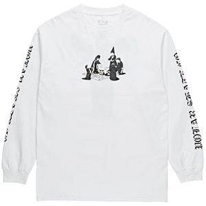 Polar Rituals Longsleeve T-Shirt White