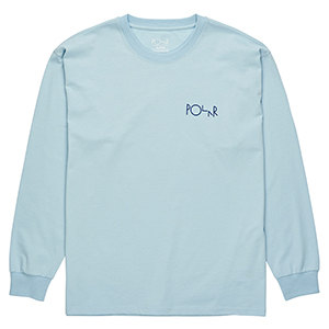 Polar Rocket Man Longsleeve T-Shirt Light Blue