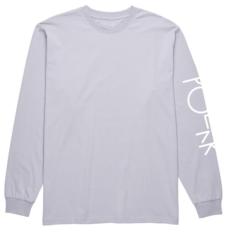 Polar Script Logo Longsleeve T-Shirt Dusty Lavender
