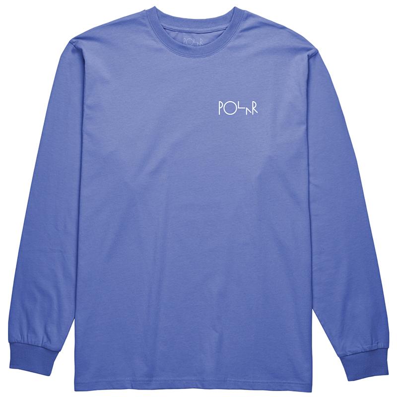 Polar Stroke Logo Longsleeve T-Shirt Baja Blue