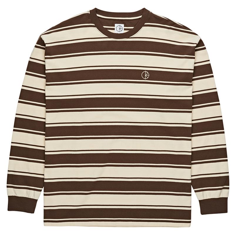 Polar Tilda Longsleeve T-Shirt Brown/Cream