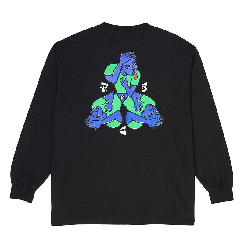 Polar Torso Longsleeve T-Shirt Black