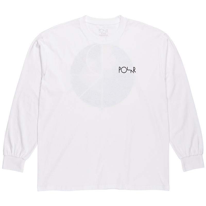 Polar Torsten Fill Logo Longsleeve T-Shirt White