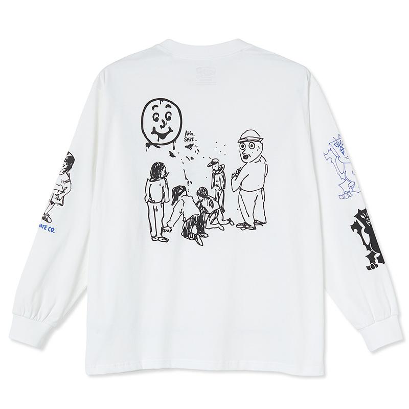 Polar Year 2020 Longsleeve T-Shirt White
