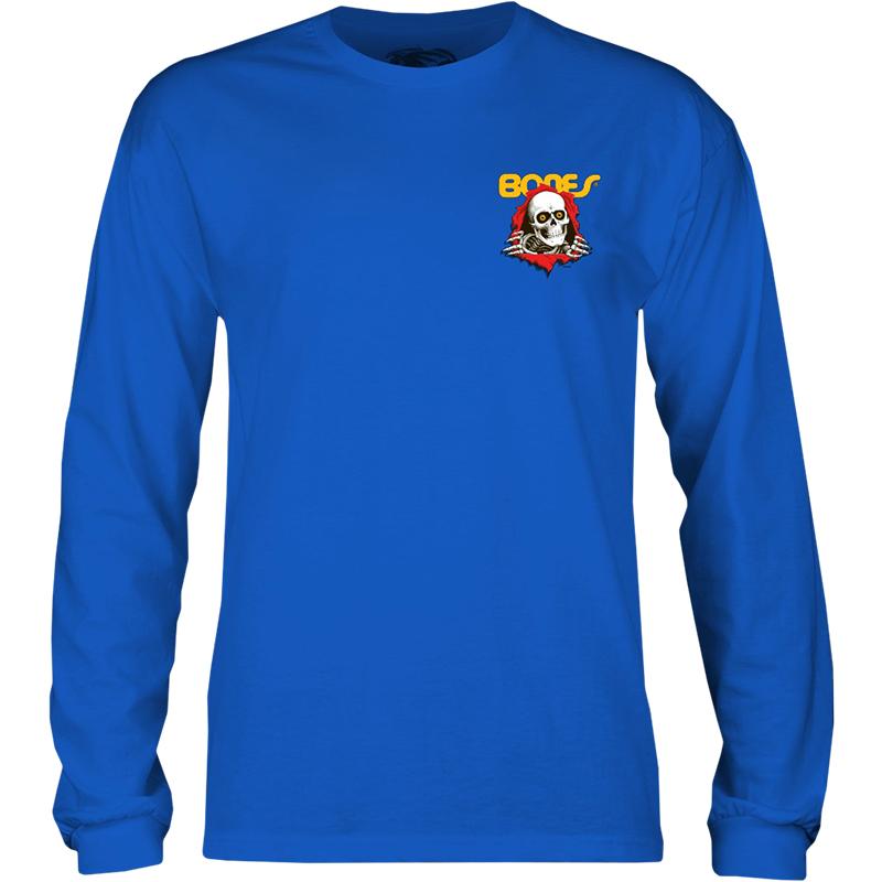 Powell Peralta Kids Ripper Longsleeve T-Shirt Blue