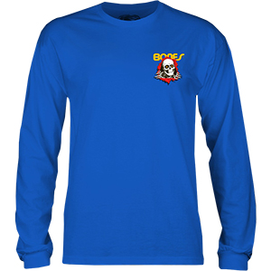 Powell Peralta Kids Ripper Longsleeve T-Shirt Blue