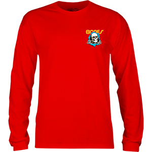 Powell-Peralta Ripper Longsleeve T-Shirt Red