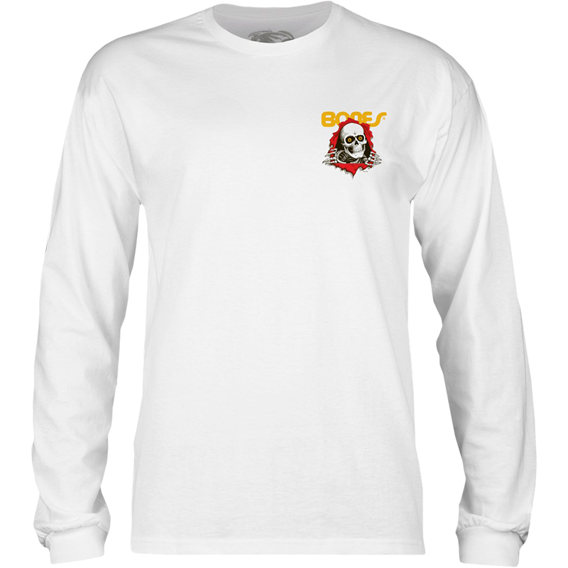 Powell-Peralta Ripper Longsleeve T-Shirt White