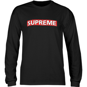 Powell-Peralta Supreme Longsleeve T-Shirt Black