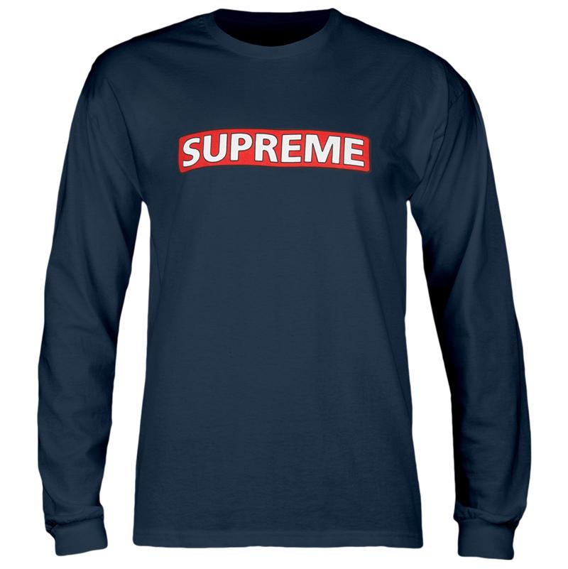 Powell Peralta Supreme Longsleeve T-Shirt Navy