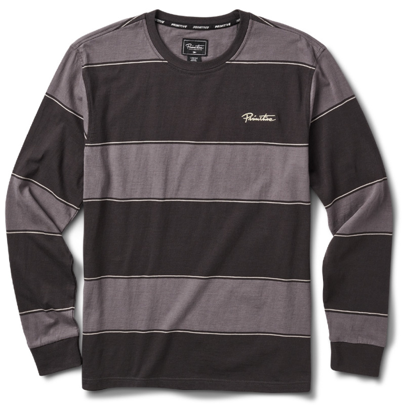 Primitive Bellevue Longsleeve Knit T-shirt Black