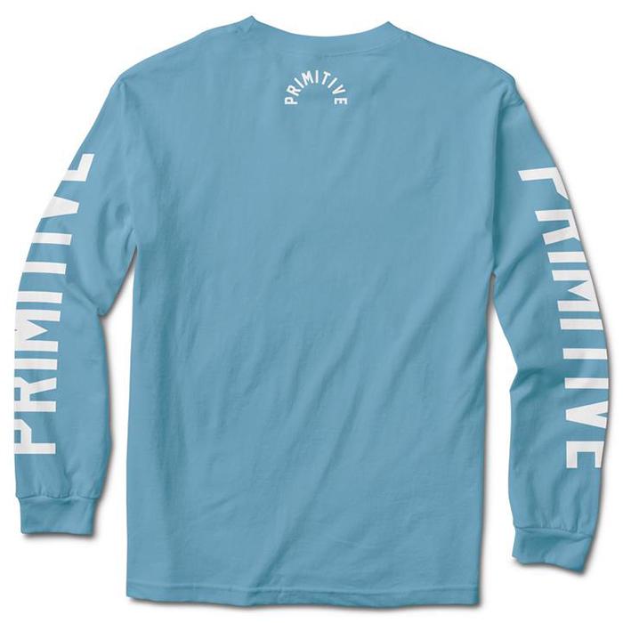 Primitive Block Longsleeve T-Shirt Ice Heather
