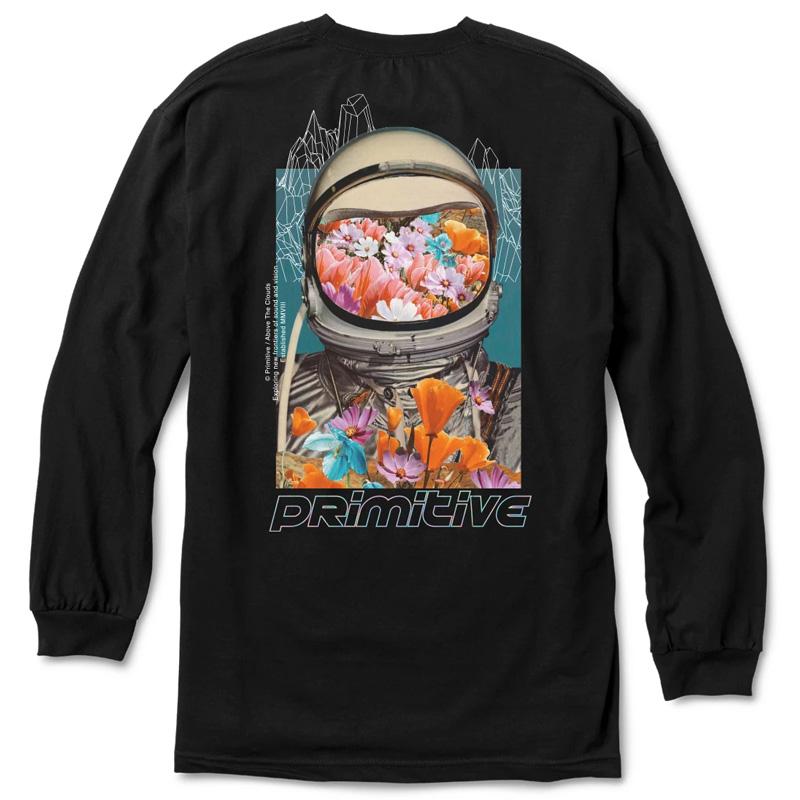 Primitive Contact Longsleeve T-Shirt Black