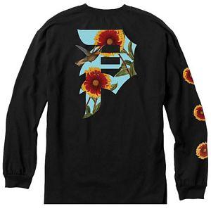 02fc581a new. 2500000268304. Primitive Dirty P Sunflower Longsleeve T-Shirt Black