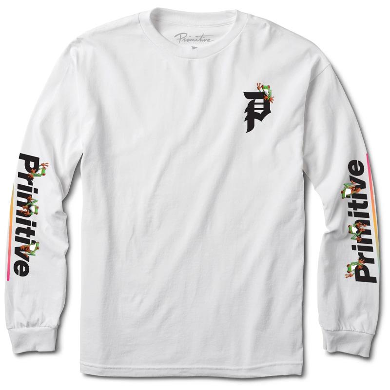 Primitive Gamma Longsleeve T-Shirt White