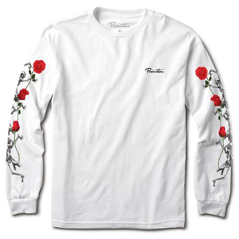 Primitive Last Dance Longsleeve T-shirt White