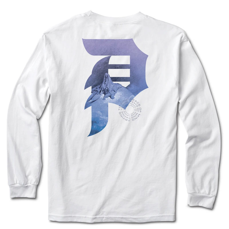 Primitive New Peace Longsleeve T-Shirt White