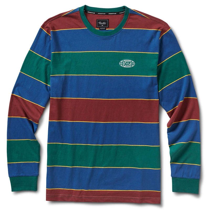 Primitive Ninety One Knit Longsleeve T-Shirt Green