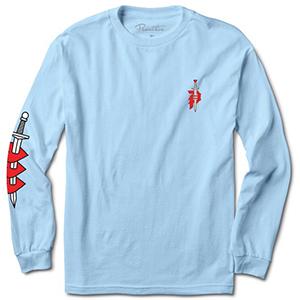 Primitive Outsider Longsleeve T-Shirt Powder Blue