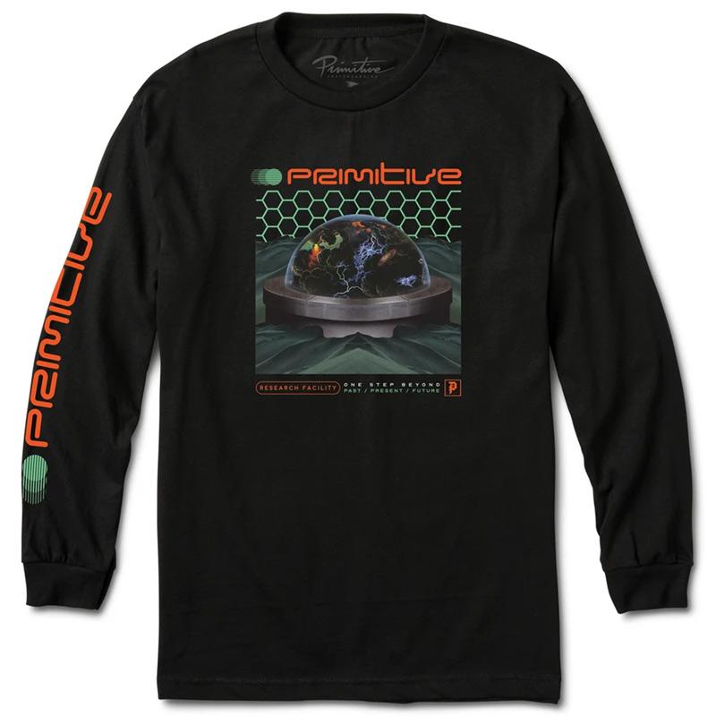 Primitive Research Longsleeve T-Shirt Black