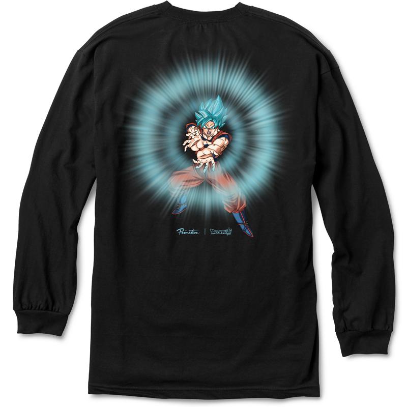 Primitive x DBS Energy Longsleeve T-Shirt Black