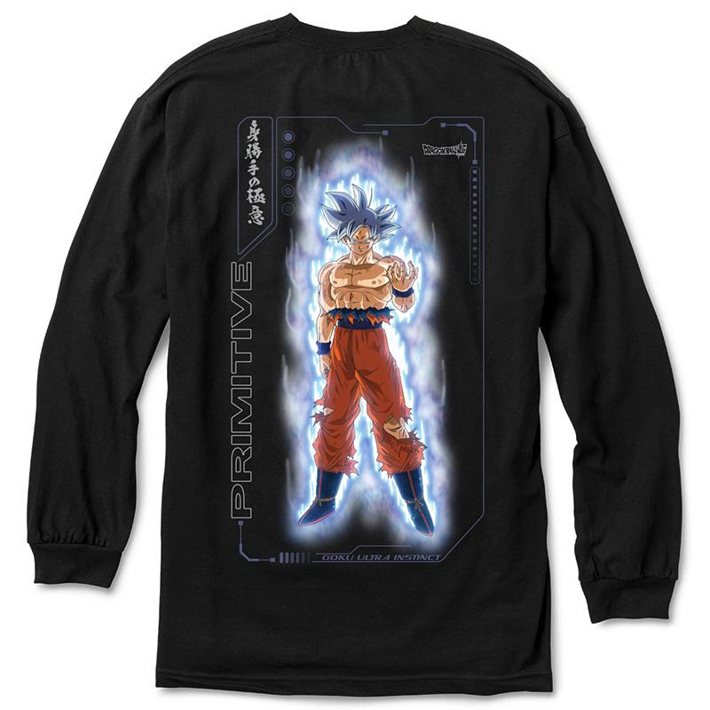 Primitive x DBS Goku Ultra Instinct Longsleeve T-Shirt Black