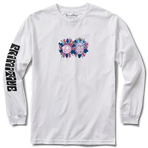 Primitive x Rick & Morty Dirty P Longsleeve T-Shirt White