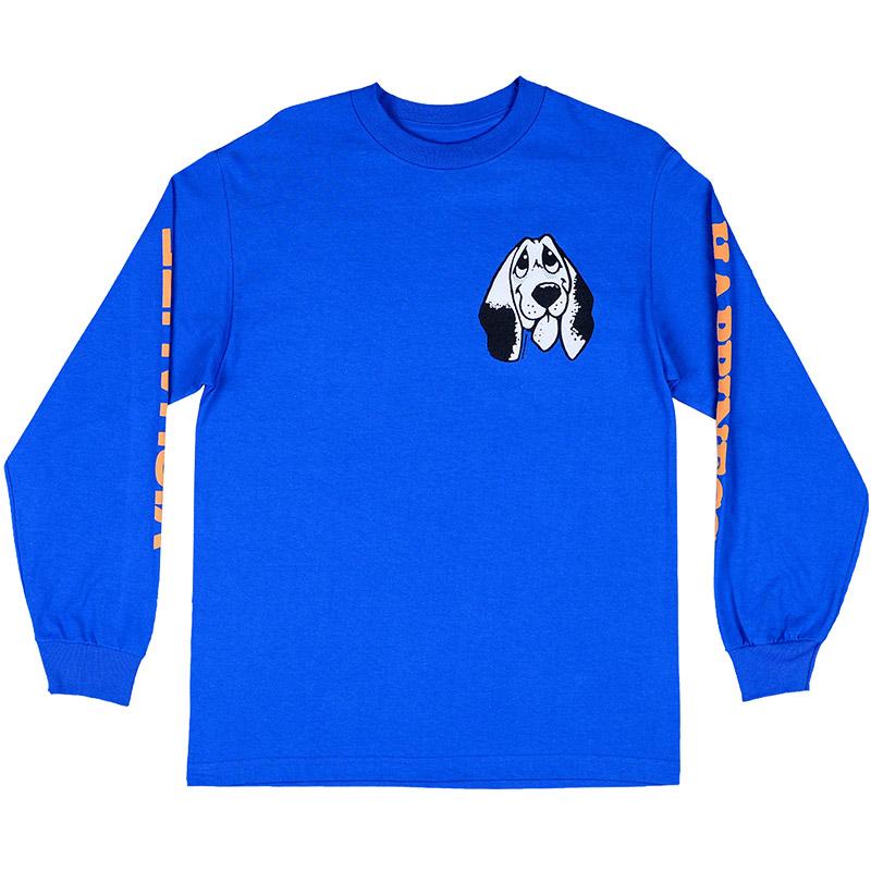 Quasi Happiness Longsleeve T-Shirt Royal