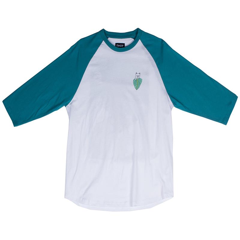 RIPNDIP Frida Raglan Longsleeve T-Shirt Navigate Green