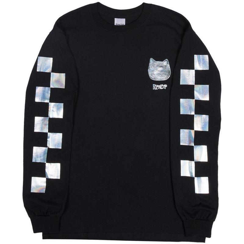 RIPNDIP Illusion Longsleeve T-Shirt Black