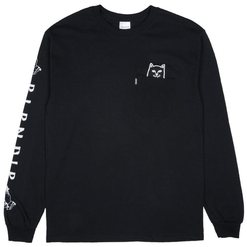 RIPNDIP Lord Jermal Longsleeve T-Shirt Black