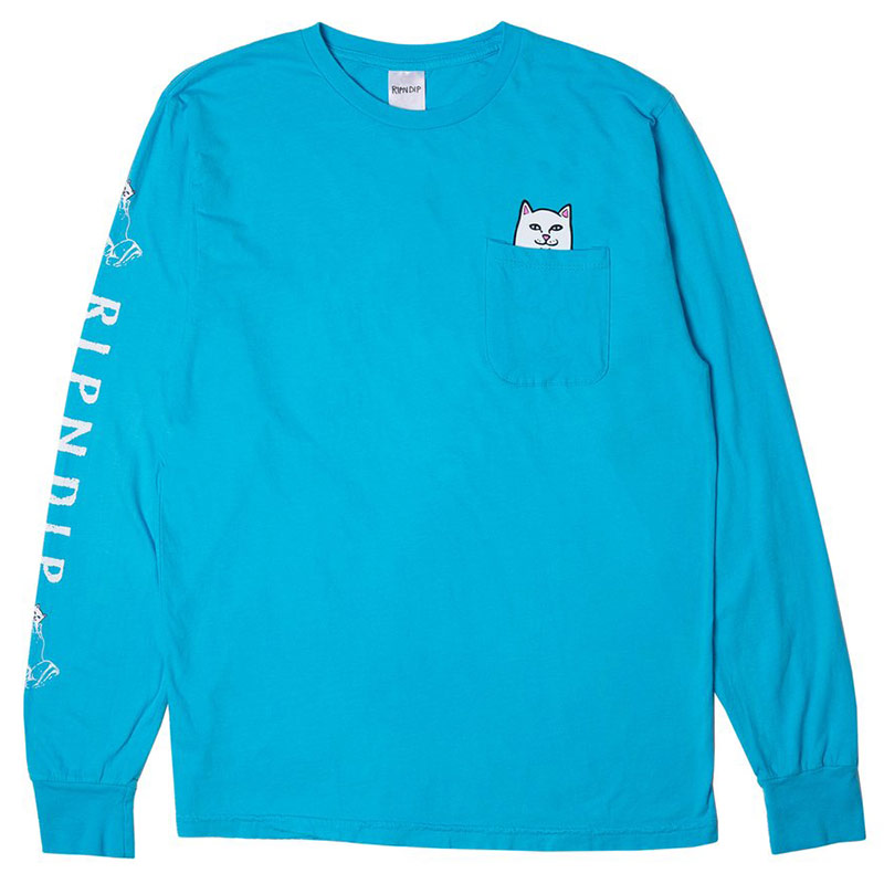 RIPNDIP Lord Nermal Longsleeve T-Shirt Blue