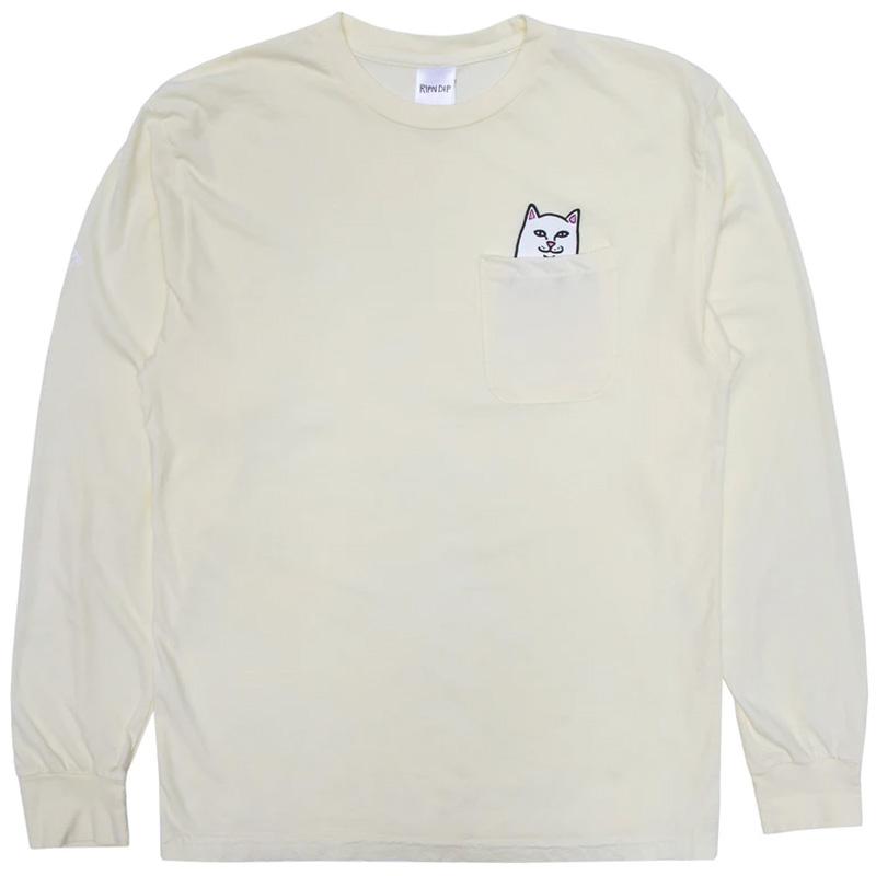 RIPNDIP Lord Nermal Longsleeve T-Shirt Natural