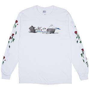 RIPNDIP Max Nerm Longsleeve T-Shirt White