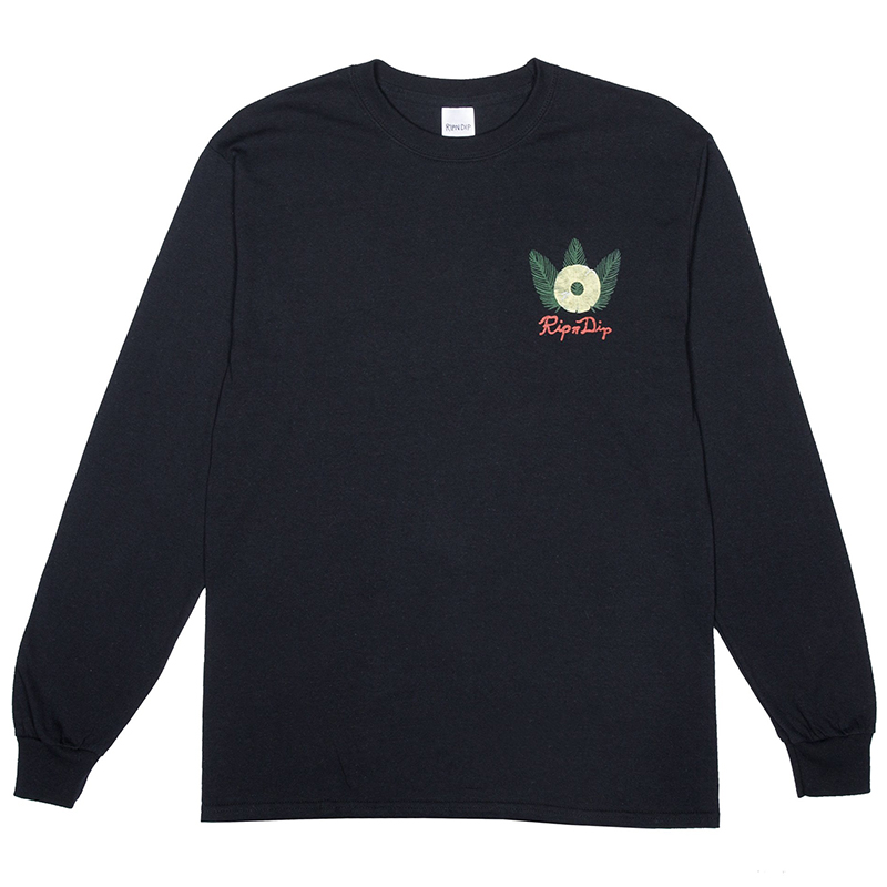 RIPNDIP Pineapple Longsleeve T-Shirt Black