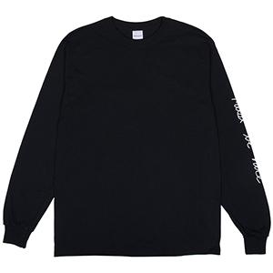 RIPNDIP Romantic Nerm Longsleeve T-Shirt Black