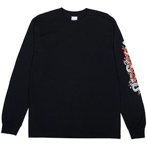 RIPNDIP Serpent Longsleeve T-Shirt Black