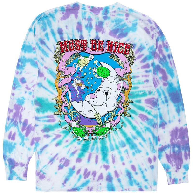 RIPNDIP Wizard Longsleeve T-Shirt Tie Dye
