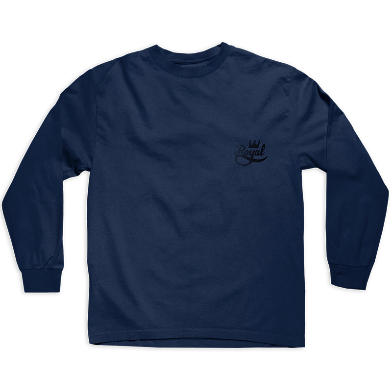 Royal Bruiser Longsleeve T-Shirt Navy