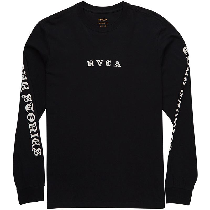RVCA Detention Longsleeve T-Shirt Black