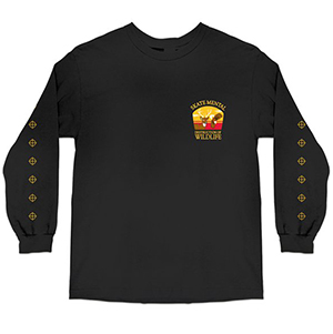 Skate Mental Destruction Of Wildlife 2.0 Longsleeve T-Shirt Black