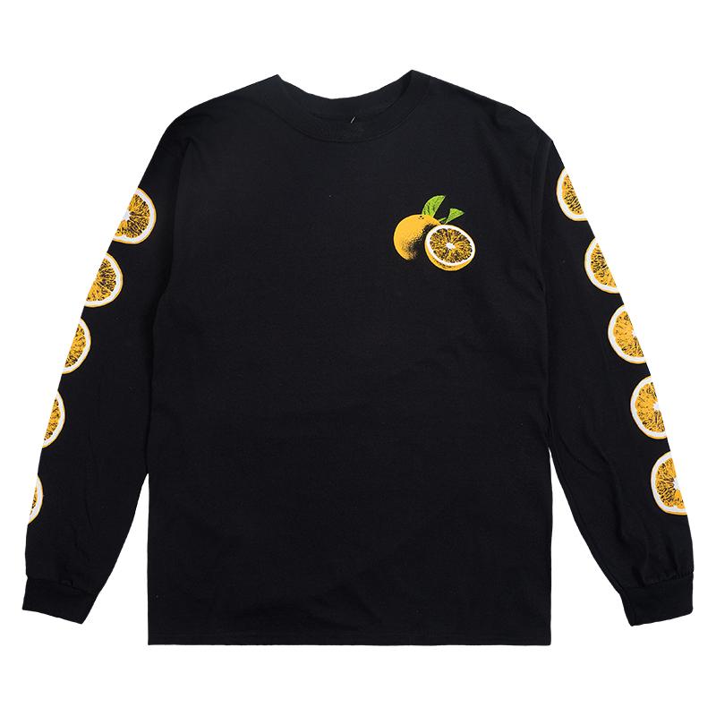 Skate Mental Spritz Longsleeve T-Shirt Black